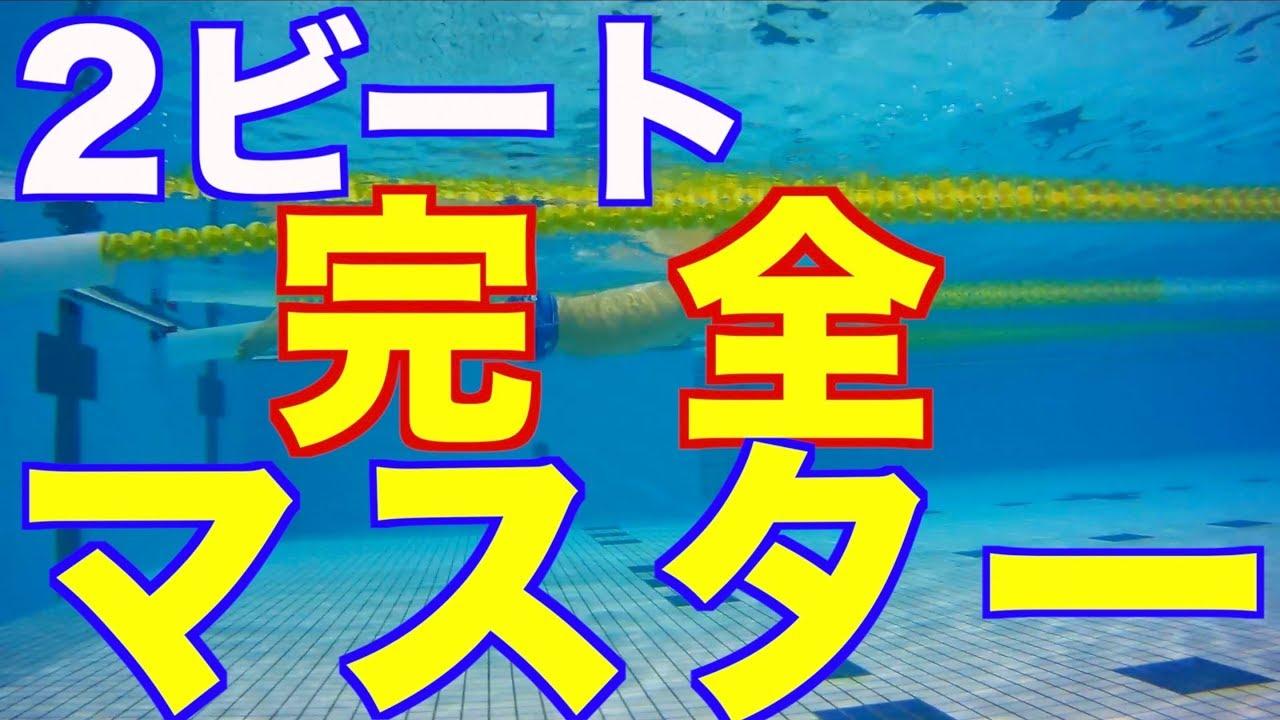 【画像で解説】2ビートクロール完全マスター 【ステップ1-4】